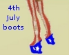 High shoes  4th july