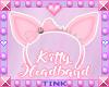 Kitty Ears   Pink