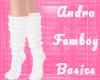 Femboy Socks - White