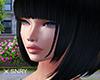 Azuki hair . black
