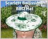 |DRB| Scarlett BBQ Hat
