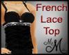 MM~ Black Lace Bra Top