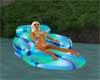 blue Cuddle Float Chair