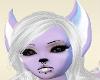 Purple wolf ears