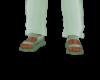 seafoam sandals