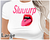 -A- Slurp Crop Top