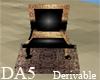 (A) Egypt Throne Chair
