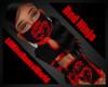 LilMiss Red Ninja Mask