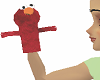 Rapping elmo puppet