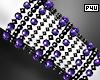 -P- Purple Pearl Cuff R