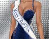 Miss Croatia sash