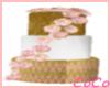 Gold Pink Cake