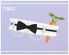 Carrot Leg Garter Black