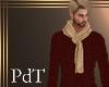 PdT Tan Knit Scarf  M