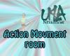 Action Movment Room