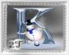 ~2T~ K  Letter Snow Man
