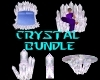 (S)Quartz Crystal Bundle