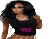 black wild color top