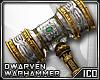 ICO Dwarven Warhammer M