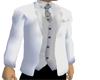 Mec White formal coat