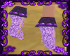 {M}Purple Boots Versa