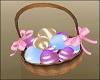 Easter Basket w Eggs