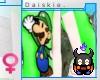 [SKEE] F- Luigi Shirt
