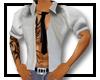 open shirt &tie