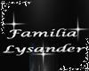 A* Fam. Lysander