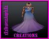 Blue&Purple Gala Gown