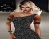 Black Sequin Arm Chains