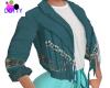beaded fringe jacket