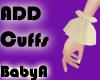 ! BA Gold Add Cuffs