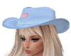 Cowgirl Hat Blue