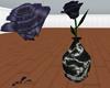 Blue Black Rose
