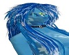 Ra Blue&White Hair Long
