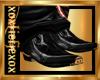 [L] Black Copper Boots M