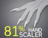 81% Hand Scaler