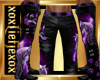 [L] WOLF Purple Pants M