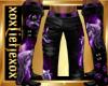 [L] WOLF Purple Pants M