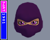 (Nat) Ninja Purple Mask