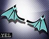[Yel] Oka wings teal