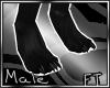 (M)Blk Fur Paws V2 [FT]