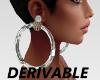 DERIVABLE LOOKS EARRINGS