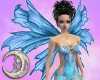 Blue Fantasy Wings