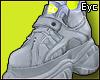 E. Deprived.. Shoes!
