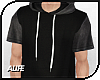 A| Long Hooded Tee v.4
