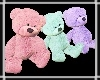 Teddy Trio Mixed