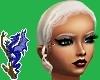 Ely Platinum Blond Updo