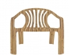 beach chair wood colour